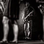 The Bassist Art Print