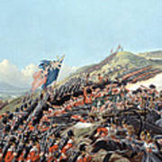 The Battle Of Alma On 20th September Art Print by Edmund Walker
