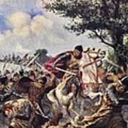 The Battle Of Bouvines, 1214 Art Print