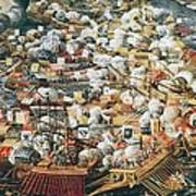 The Battle Of Lepanto, 7th October Art Print