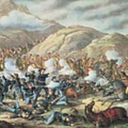 The Battle Of Little Big Horn, June 25th 1876 Art Print