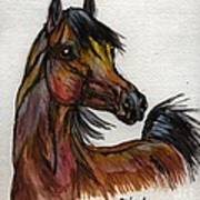 The Bay Horse 1 Art Print