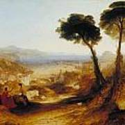 The Bay Of Baiae With Apollo And The Sibyl Art Print