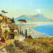 The Bay Of Naples Art Print