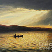 The Bay Of Silence Art Print by Kiril Stanchev