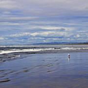 The Beach At Seaside Art Print