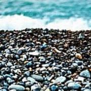 The Beach Of Rocks Art Print