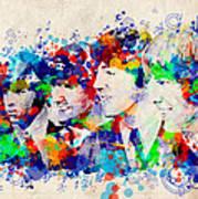 The Beatles 7 Art Print