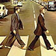 The Beatles Abbey Road Artwork Art Print