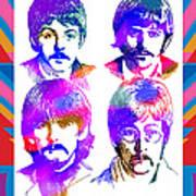 The Beatles Art Art Print