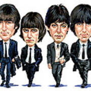 The Beatles Art Print by Art