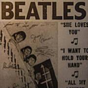 The Beatles Ed Sullivan Show Poster Art Print