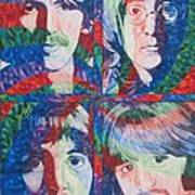 The Beatles Squared Art Print