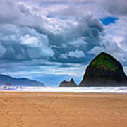 The Beautiful Cannon Beach Art Print