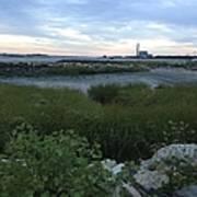The Beauty Of Connecticut's Shoreline Art Print