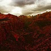 The Beauty Of Zion Natinal Park Art Print