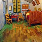 The Bedroom Of Van Gogh At Arles Art Print