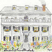 The Beekman Arms In Rhinebeck Art Print