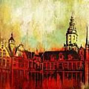 The Belfries Of Belgium And France  Art Print