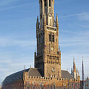The Belfry Of Bruges Art Print