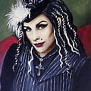 The Bella Luna Art Print
