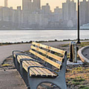 The Bench Art Print by JC Findley
