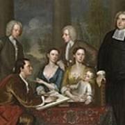 The Bermuda Group, Dean Berkeley And His Entourage, 1728 Art Print