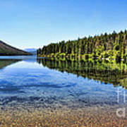 The Best Beach In Glacier National Park Panorama 2 Art Print