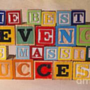 The Best Revenge Is Massive Success Art Print