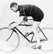 The Bicyclist - 1914 Art Print