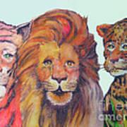 The Big Cats Art Print