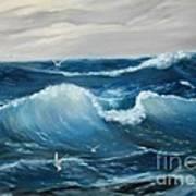 The Big Ocean Art Print