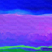 The Big Sky Art Print