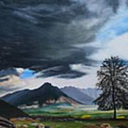 The Big Storm Art Print