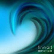 The Big Wave Of Hawaii 5 Art Print