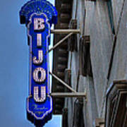 The Bijou Theatre - Knoxville Tennessee Art Print