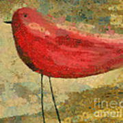 The Bird - K03b Art Print