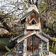 The Birdhouse Kingdom - The Red Crossbill Art Print