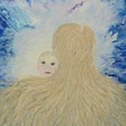 The Birth Of New Universal Love Named Tao  Art Print by Judy M Watts-Rohanna