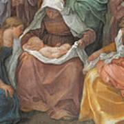 The Birth Of The Virgin Art Print