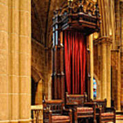 The Bishops Chair II Art Print