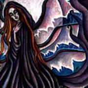 The Black Belladonna Art Print
