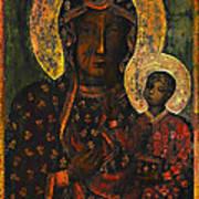 The Black Madonna Art Print by Andrzej Szczerski