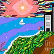 The Bliss Resort Art Print by Lewanda Laboy