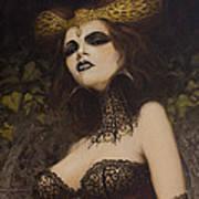 The Blood Countess Art Print