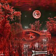The Blood Moon Art Print