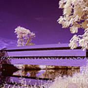 The Blue Bridge Art Print