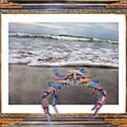 The Blue Crab Art Print