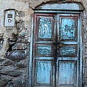 The Blue Door 1 Art Print