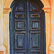 The Blue Door Venice Art Print